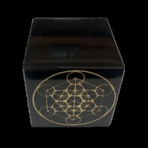 Cubo con Estrella de Metatron