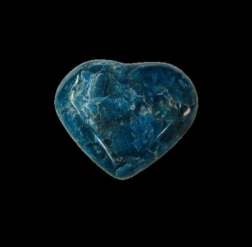 Corazón de Apatito Azul